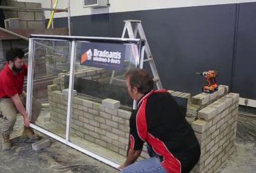 How Aluminium Windows are installed